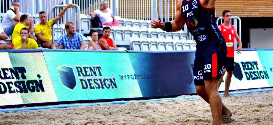 POLISH BEACH HANDBALL TOUR  - RUCH i Rent Design